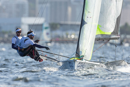 13 08 2016, Rio de Janeiro (BRA), 2016 Olympic Games, Sailing