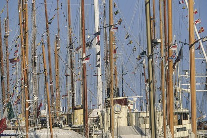 Sailing, shore and dock ambiances, Monaco Classic Week