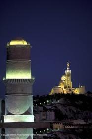 Fanal tower - Notre Dame de la Garde