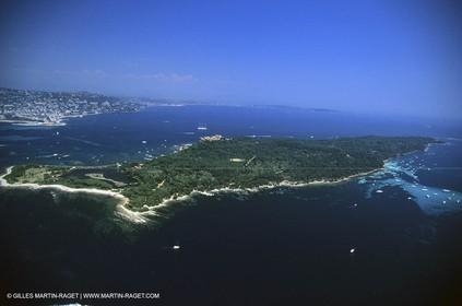 Cannes Lérins Islands - Sainte Marguerite Island.