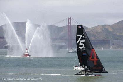 27 05 2012 - San Francisco (USA,CA) - 34th Americas's Cup - America's Cup celebrates the Golden Gate Bridge 75th Anniversary