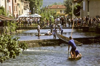 Provence (South France) - Cities and villages - 84 (Vaucluse) - L'île sur Sorgue