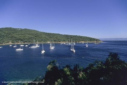 France, Provence, Iles d'Hyères, Port Cros