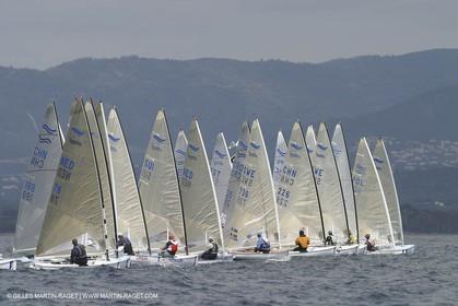 2004 Hyeres Sailing Week (SOF) - Finn