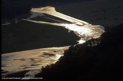 Durance river near Cavaillon