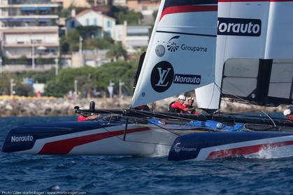 08 09 2016, Toulon (FRA, 83), Louis Vuitton America's Cup Series Toulon, open training