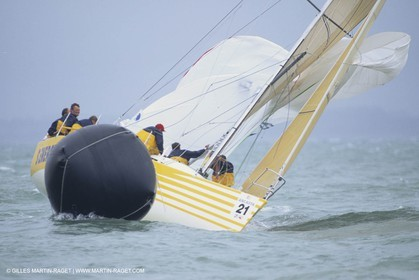 Sailing, Yacht Racing, Admiral's Cup, Cowes Week, Cowes (UK, IOW)