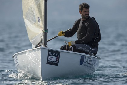 14 02 2014,  Cannes (FRA,06), FINN Cannes International Sailing week - Thomas Lebreton (FRA)
