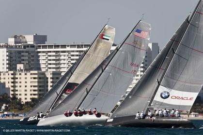 12 12 2010 - Miami (USA, FLA) - 2010 RC 44 World Champîonship - Oracle RC 44 Cup Miami - Final day - Fleet racing