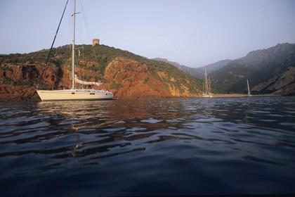 France, Corse, West coast, côte occidentale