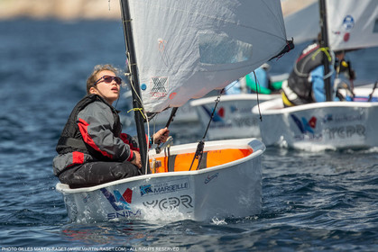 14 04 2016, Marseille (FRA,13), SNIM Dériveurs, Coupe Internationale de Printemps Optimist, Day 4