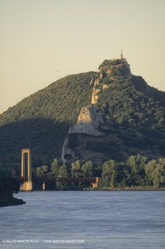 France, Provence, le Rhône à Donzère Montdragon