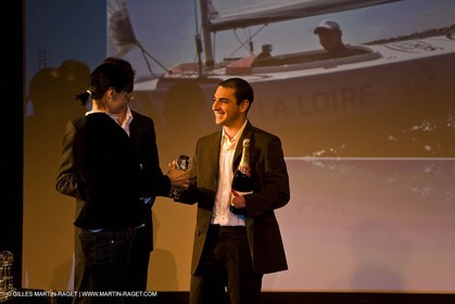 12 08 08 - Paris (FRA) Edouard VII theater - French Sailing Federation - Champions party - French Sailor of the year : Francis Joyon
