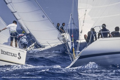 Sailing, Yacht Racing, Enterprises regatta, Saint Tropez