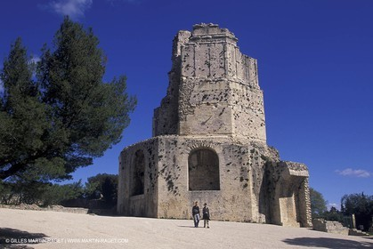 Nîmes - Magne tower