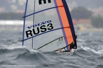Semaine Olympique Française de Voile 2005 - Jour 1 - Mistral