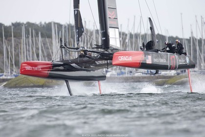 27 08 2015, Göthenburg, (SWE), 35th America's Cup, Louis Vuitton America's Cup World Series Göthenburg 2015, Tech Day,