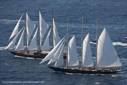 27 09 2010 - Saint Tropez (FRA,83) - Voiles de Saint Tropez - Creole vs Atlantic