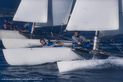 Sailing, Dinghies, Olympic Sailing, Tornado, Le Déroff Hénard