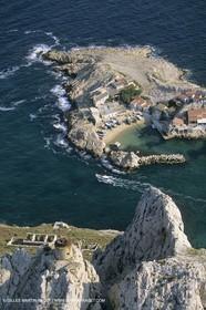France, Provence, Les Calanques & Iles de Marseille, Baie des singes