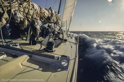 Sailing, Yacht Racing, Offshore Racing, Whtibread Round The World race, onboard Merit