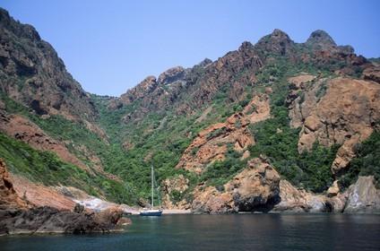 Destination - France - Corsica - Scandola national park