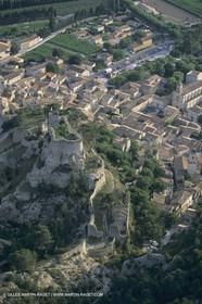 France, Provence, Villages des Alpilles, Boubon (FRA,13)