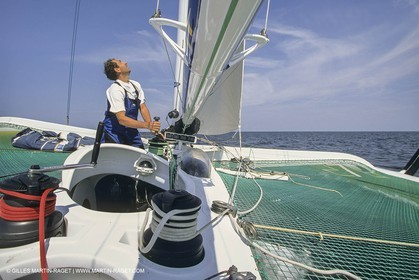 Yacht Racing, Multihull, ORMA 60, Paul Vatine, Région Haute Normandie