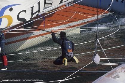 Sailing, Offshore racing, records, Jules Verne Trophy, Bricorama B&Q, Ellen Mac Arthur