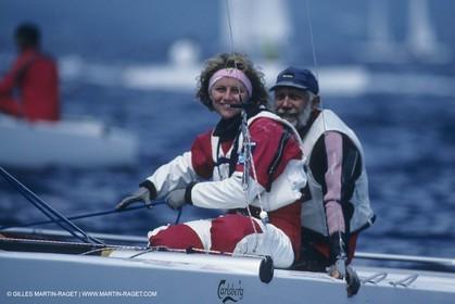 Sailing, dinghies, Tornado, Paul Elvström, Trine Elvström