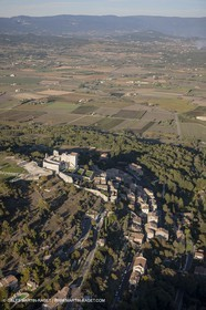 29 10 2012 - Lacoste (FRA,84) - Luberon as seen from above
