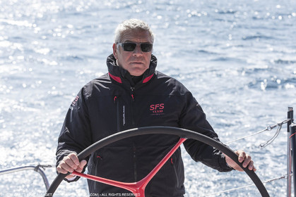 24 mars 2016   Marseille (FRA,13), SFS II (skipper Lionel Péan), last training before Marseille Sailing Week
