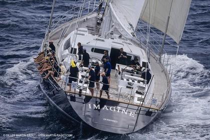Sailing, Sailing Super Yachts, Millenium Cup 2000, Auckland (NZL)