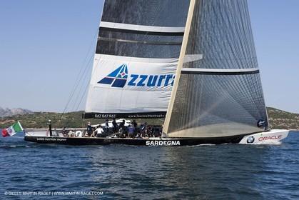 19 05 2010 - La Maddalena (ITA, Sardinia) Louis Vuitton Trophy - Racing Day 1 - Azzura Vs Mascalzone Latino