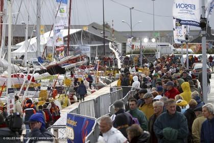 Route du Rhum 2002 - Saint Malo - Preparation