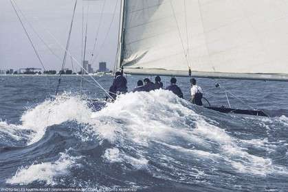 Sailing, Yacht Racing, 25th America's Cup Newport 1983, France III