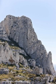 30 04 2009 - Marseille (FRA, 13) - Les Calanques - La Grande Candelle (north face)