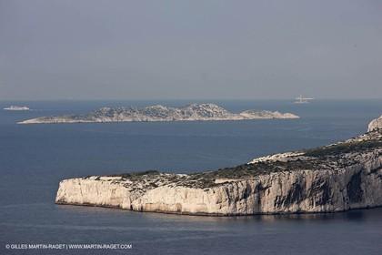 20 03 2009 - Marseille (FRA, 13) - Les Calanques - Cape Morgiou and Riou island