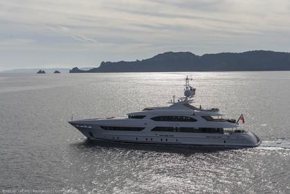 22 04 2015, Porquerolles Island (FRA,83), Heesen Yachts, M.Y. ASYA