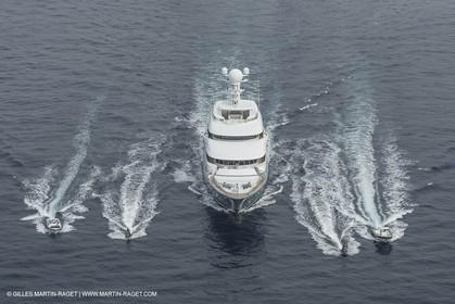 21 09 2014 - Cannes (FRA,83), Motor yacht TV