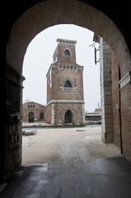 20 02 2012 - Venezia (ITA) - 34th America'sCup - Venezia 2012 America's Cup World Series - The Arsenale where the AC45 moorings, public village, media center and Club 45 will be located