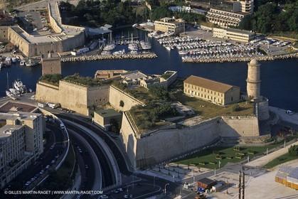 Marseille, le fort Saint Jean