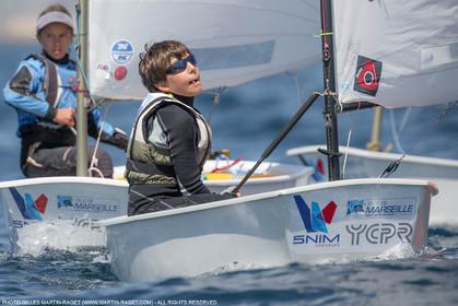 14 04 2016, Marseille (FRA,13), SNIM Dériveurs, Coupe Internationale de Printemps Optimist, Day 4