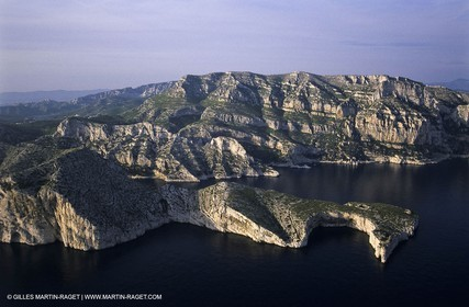 Marseille (FRA,13) - Les Calanques - Cape Morgiou and Mount Puget Hills