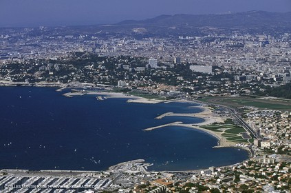 Marseille - Prado beaches