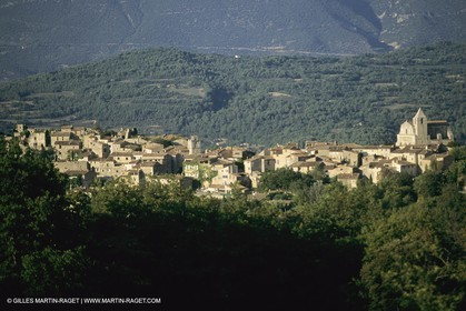 France, Provence, Luberon, Saignon