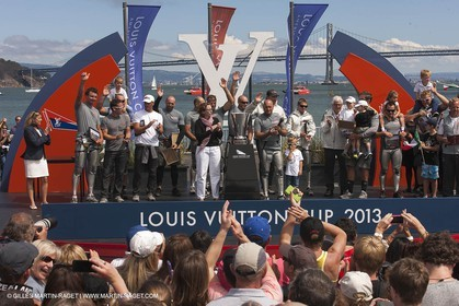 25 08 2013 - San Francisco (USA,CA) - 34th America's Cup - Louis Vuitton Cup Final, Day 7, Emirates Team New Zealand Vs Luna Rossa