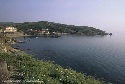 Banyuls, plage des Elmes (FRA,66).