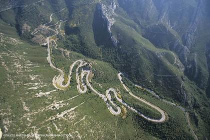 France, Provence, Pays d'Aubagne, collines de Marcel Pagnol, Col de l'Espigoulier