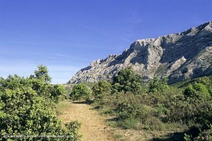 Aix en Provence area - Sainte Victoire mountain